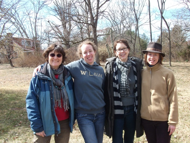 Carolyn, Bethany, Anne, Claire