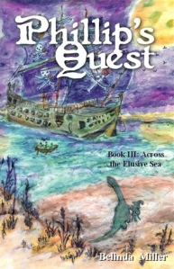 The third book in the Middle Grade Phillip's Quest series will be released this November